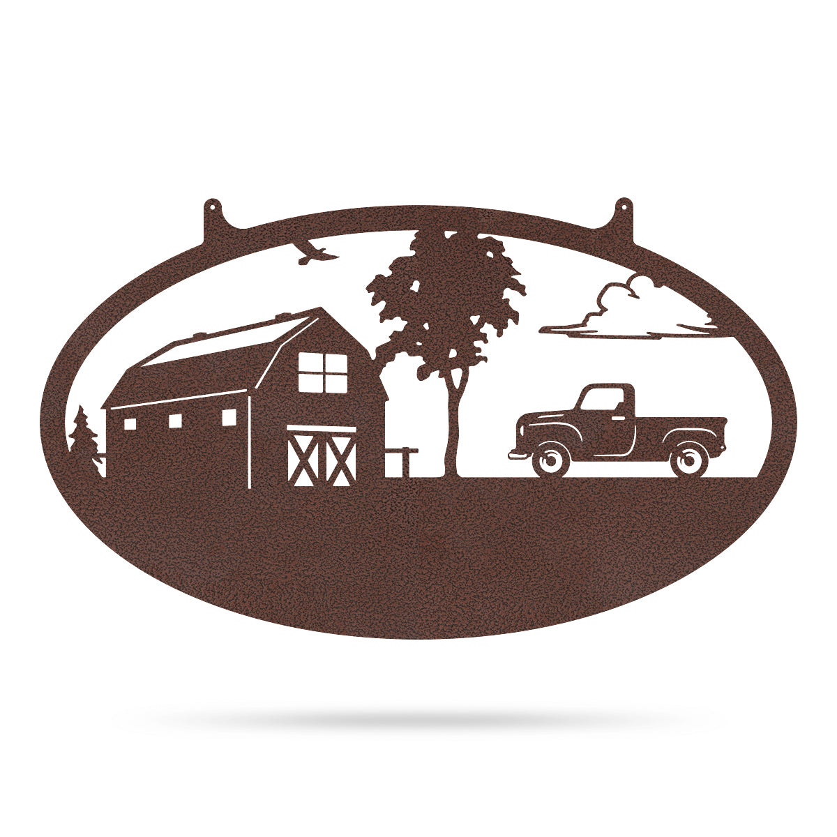 "Choose Your Farm Sign 14""x24"" / Penny Vein / Pickup Truck - RealSteel Center"
