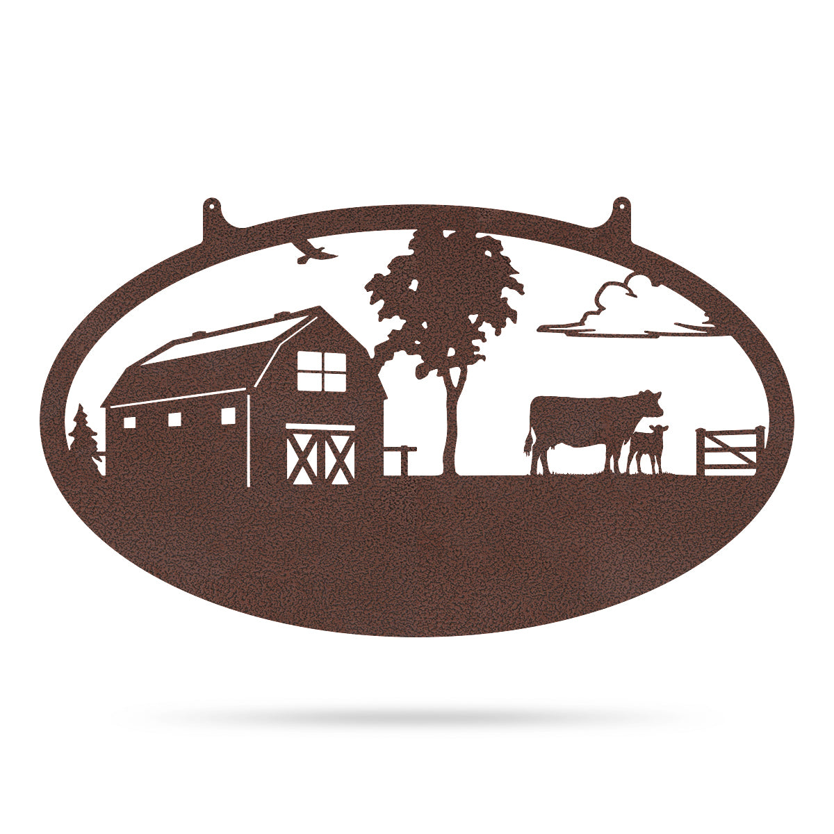 "Choose Your Farm Sign 14""x24"" / Penny Vein / Cow and Calf - RealSteel Center"