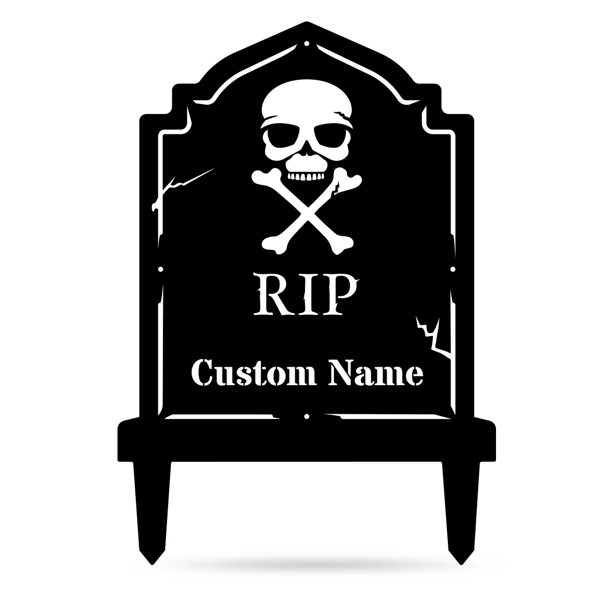Halloween Tombstone Monogram  - RealSteel Center