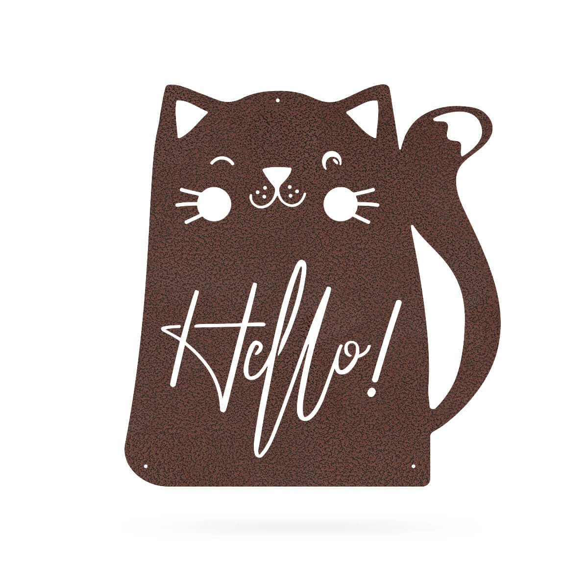 "Hello Cat Wall Art 18"" / Penny Vein - RealSteel Center"