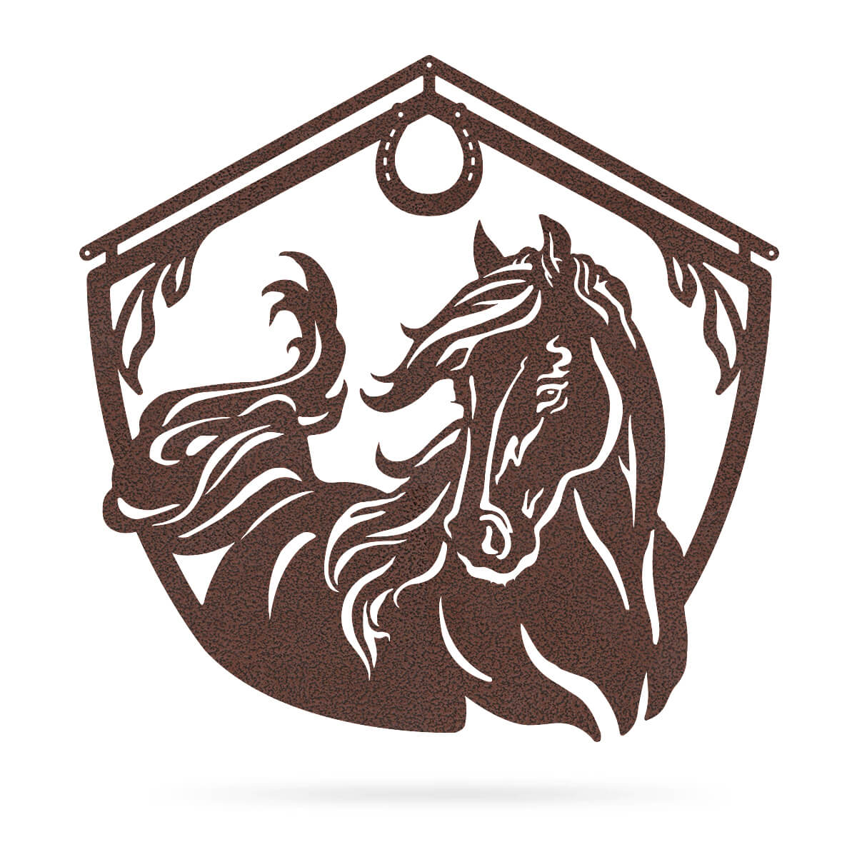 "Horse and Barn Sign 18"" / Penny Vein - RealSteel Center"