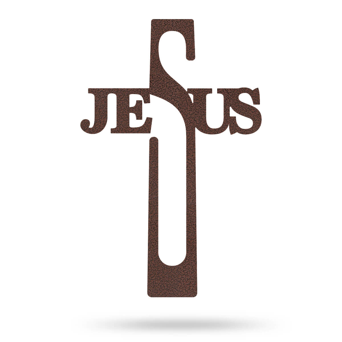 "Jesus Cross Wall Art 8""x16"" / Penny Vein - RealSteel Center"