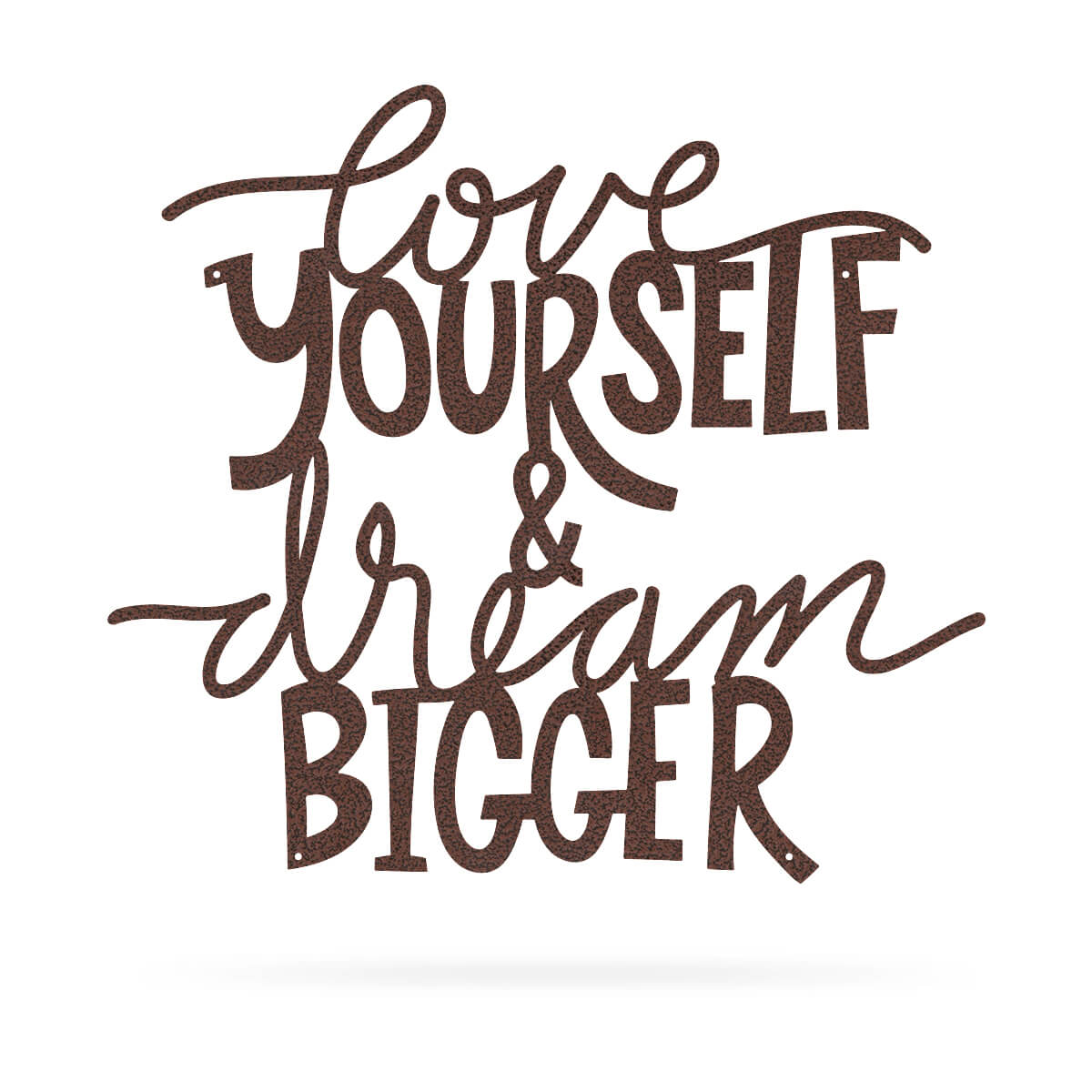 "Love Yourself & Dream Bigger Wall Art 18""x20"" / Penny Vein - RealSteel Center"
