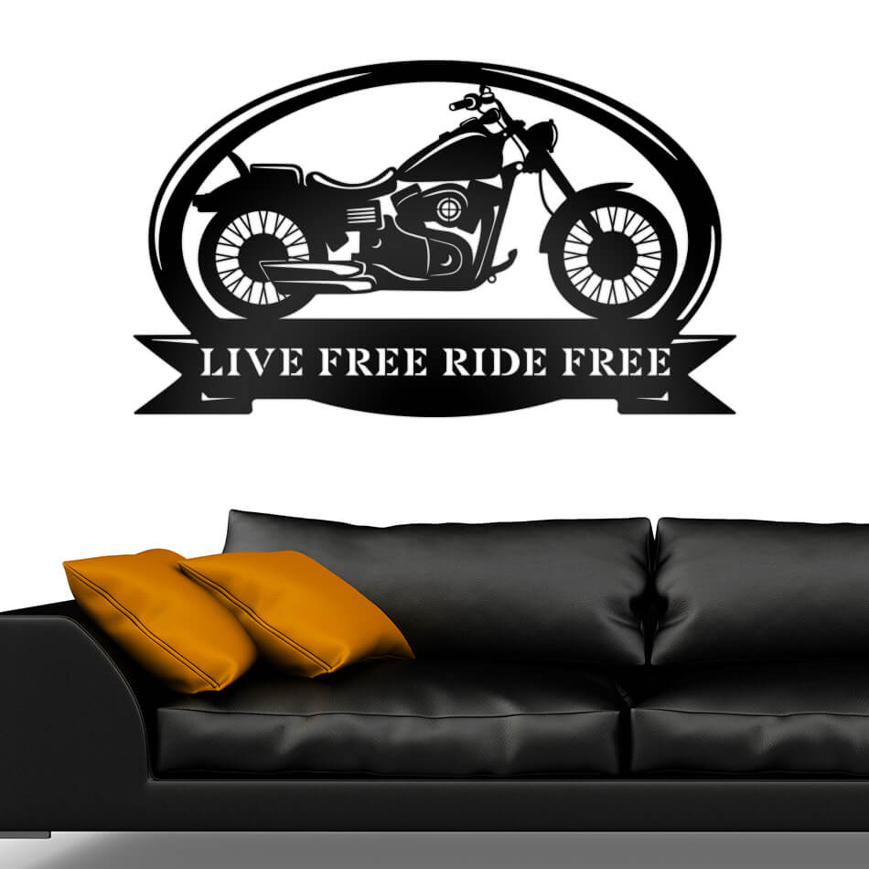 Motorcycle Monogram  - RealSteel Center