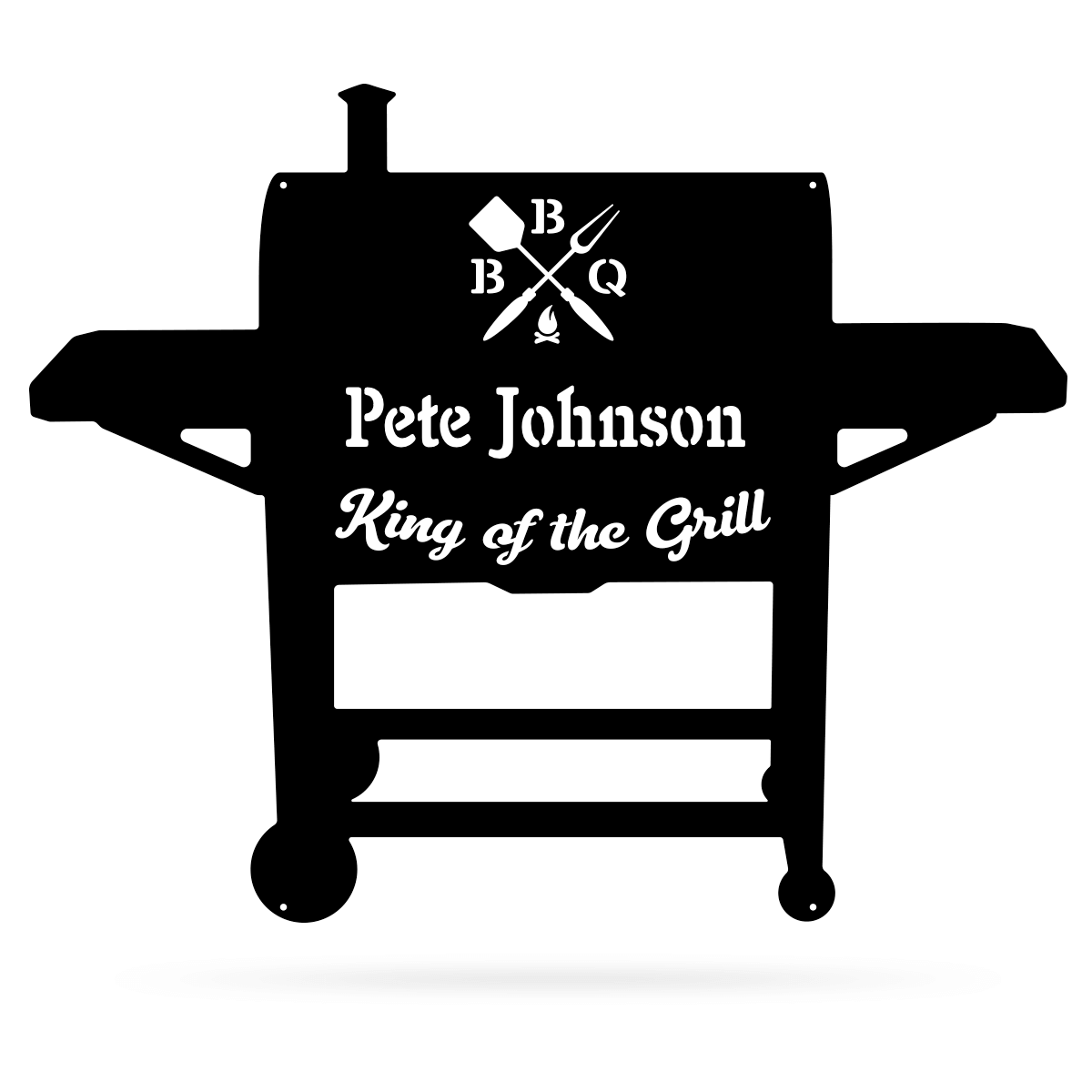 BBQ Monogram  - RealSteel Center