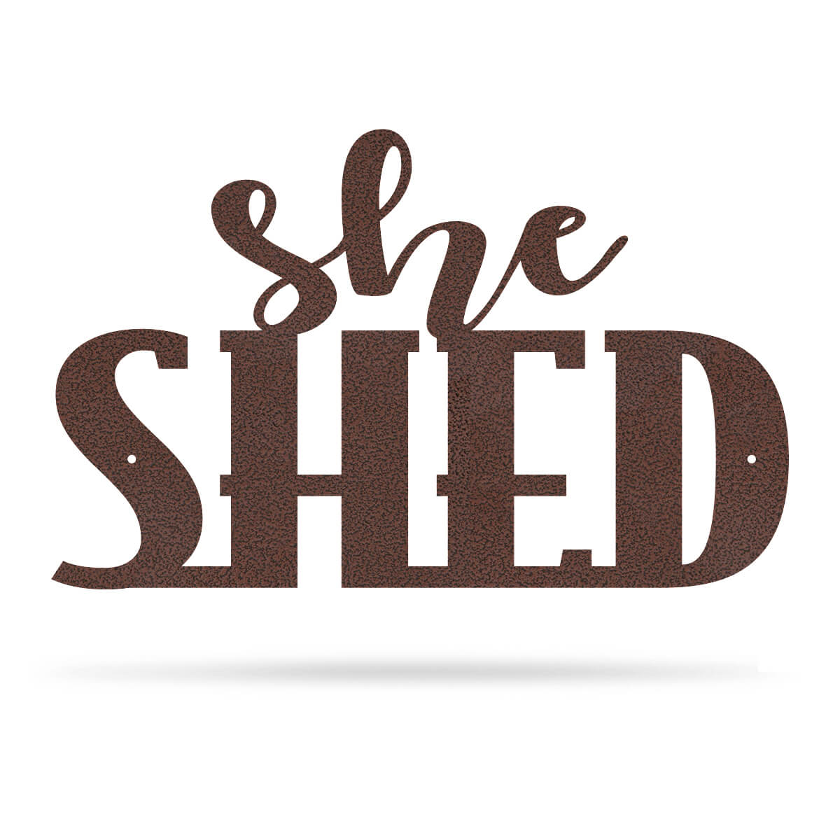 "She Shed Wall Art 7.5""x12"" / Penny Vein - RealSteel Center"