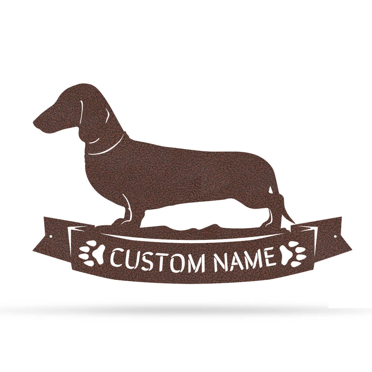 "The Dachshund Monogram 12.5""x20"" / Penny Vein - RealSteel Center"