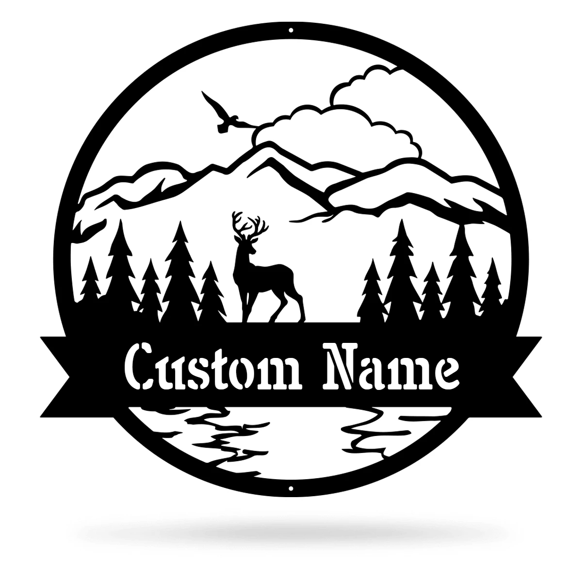 The Great Outdoors Monogram  - RealSteel Center