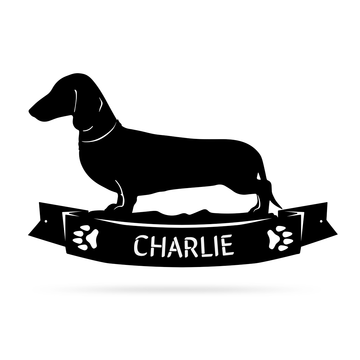 The Dachshund Monogram  - RealSteel Center