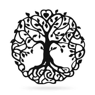 "Family Tree Of Life 18"" / Black - RealSteel Center"