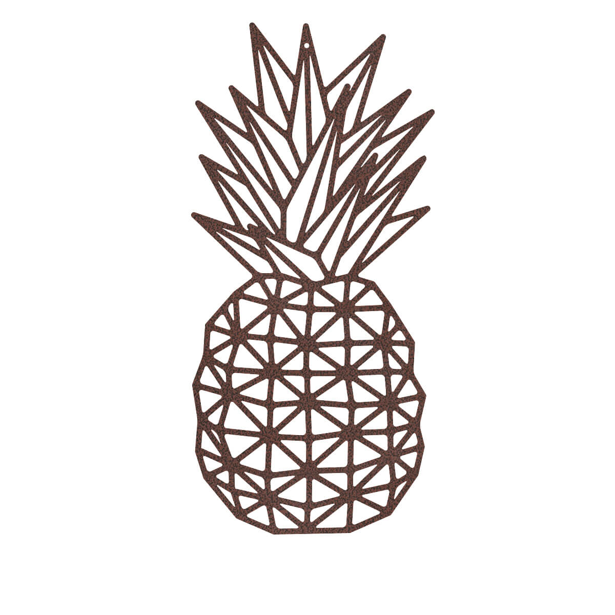 "Pineapple Wall Art 10""x18"" / Penny Vein - RealSteel Center"