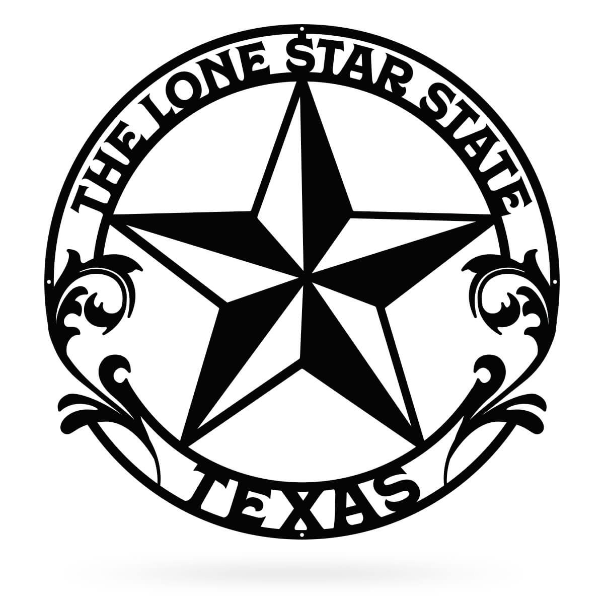 "The Lone Star State Texas 24"" / Black - RealSteel Center"