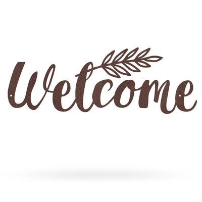"Welcome Sign 6.3""x17"" / Penny Vein - RealSteel Center"