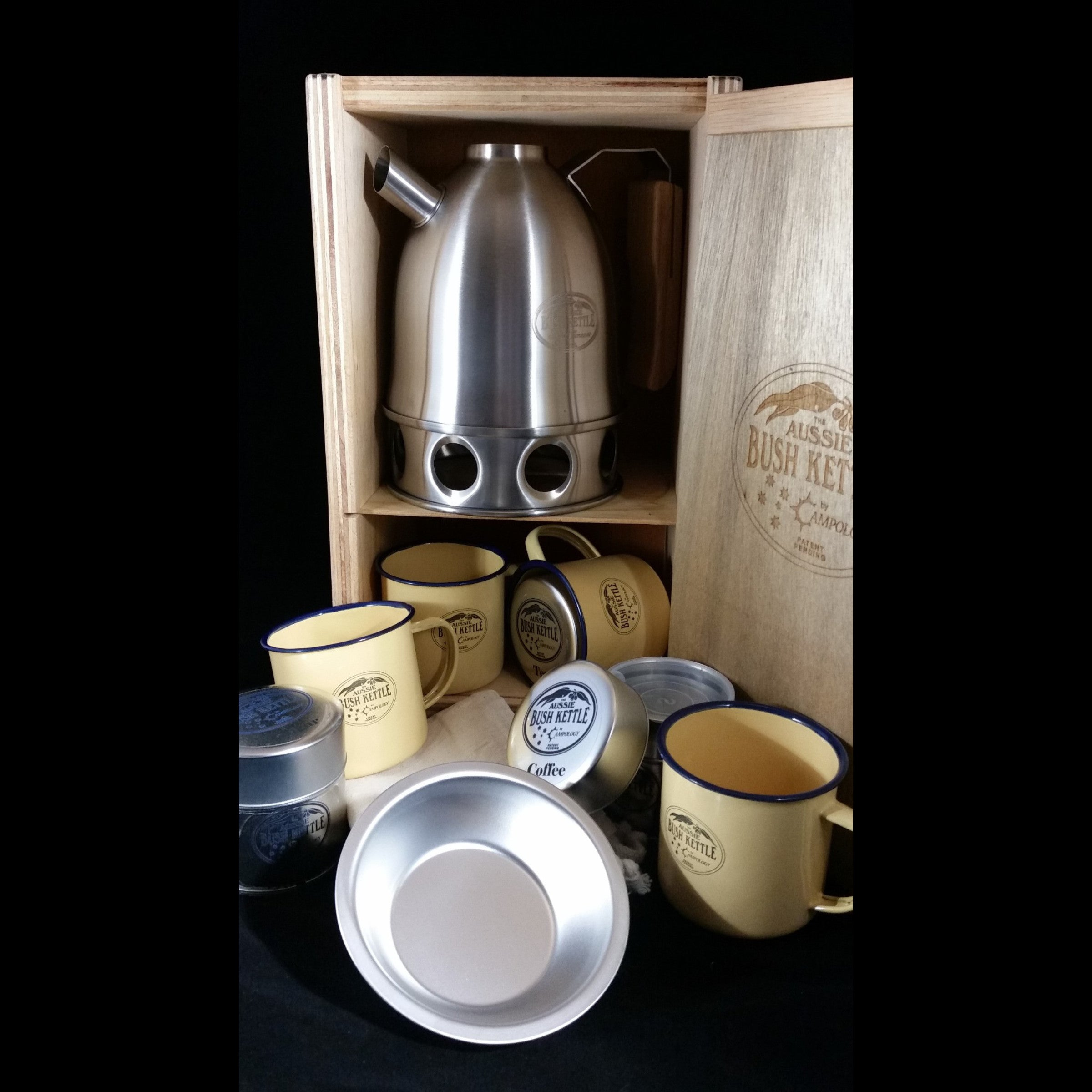 Aussie Bush Kettle - Gold Package