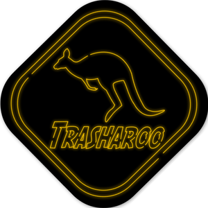 Trasharoo Neon Sticker