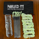 Nailed It! Titanium Tent Peg Kit