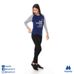 Kaos Tumblr I Am Here Navy Abu - Mypoly.ID