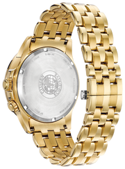 Citizen Eco-Drive Men's Calendrier Gold W/ Diamonds