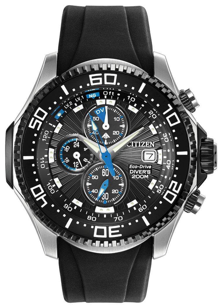 Citizen Men's Eco-Drive Promaster Depth Meter Chronograph