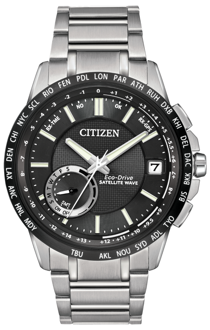 Citizen Men's Eco-Drive Satellite Wave World Time