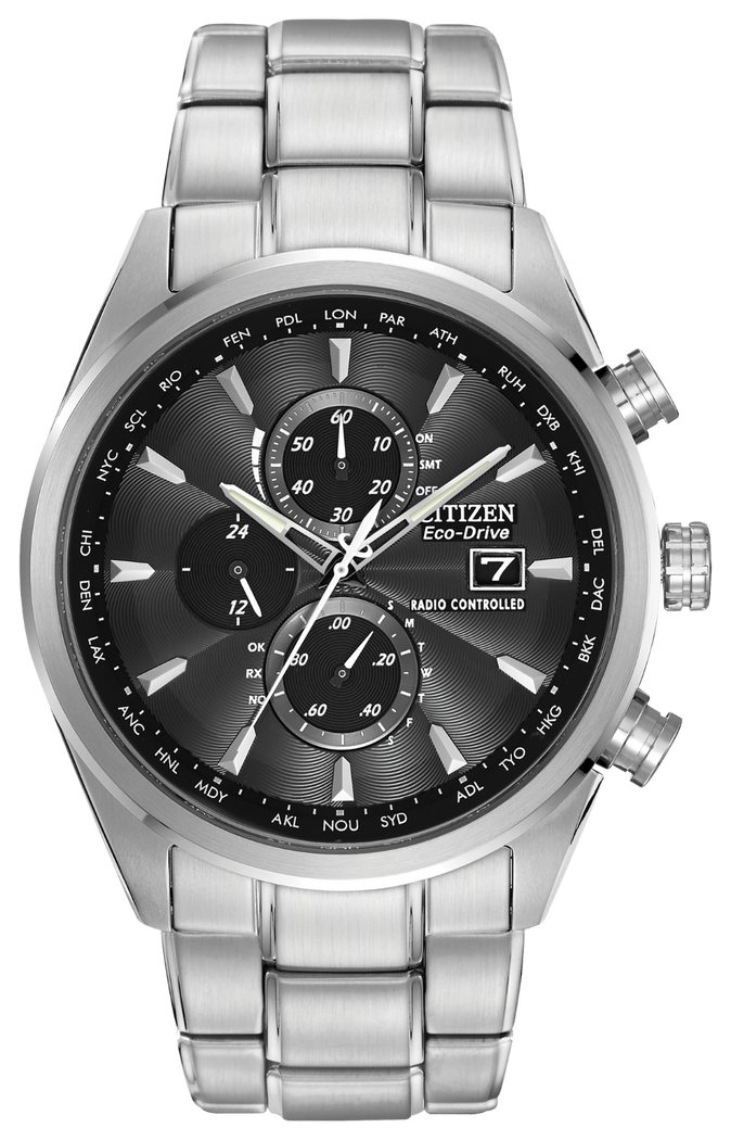 Citizen Men's Eco-Drive World Chronograph A-T