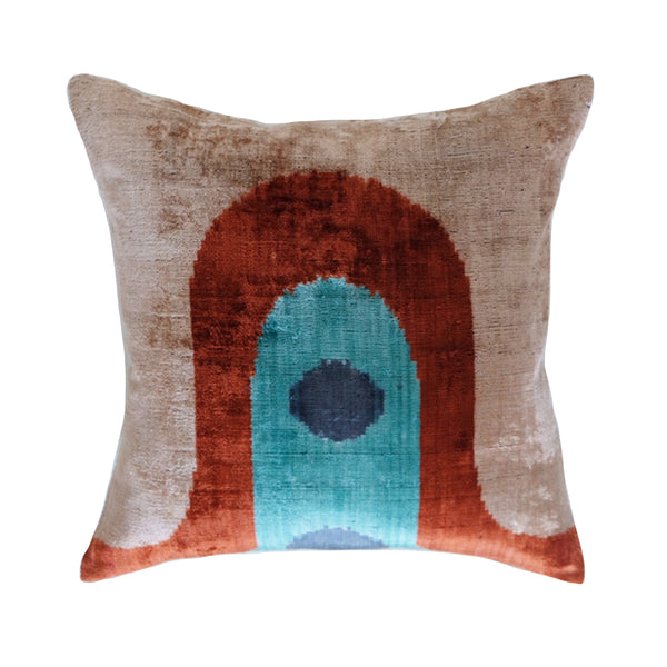 Bensi Silk Ikat Pillow