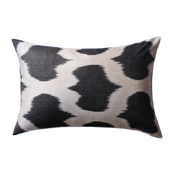 Buk Silk Ikat Lumbar Pillow