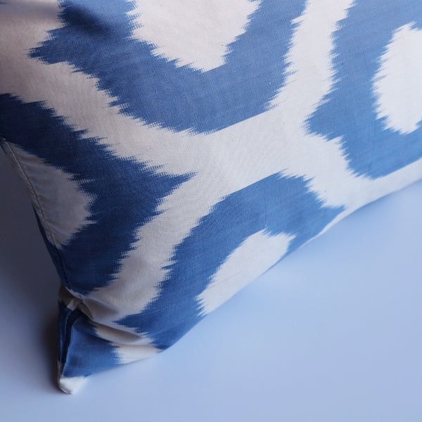 Cevaz Silk Ikat Lumbar Pillow