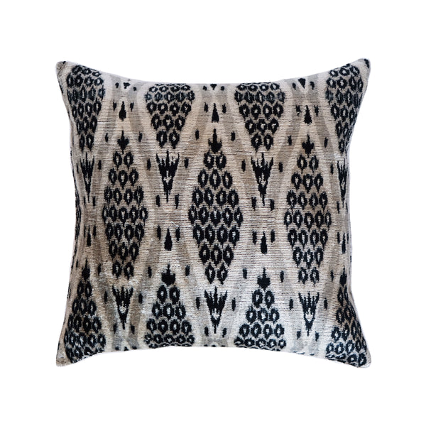 Cide Silk Ikat Pillow