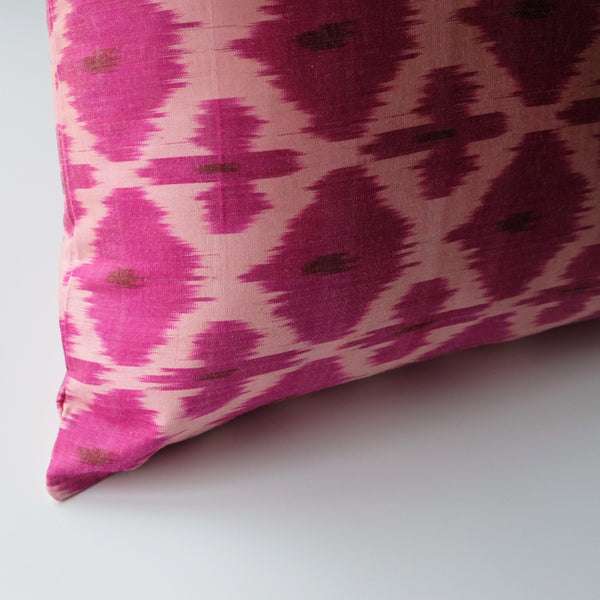 Dara Silk Ikat Pillow
