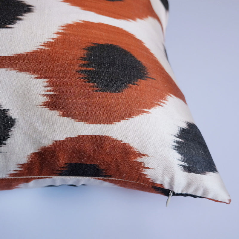 Dose Silk Ikat Lumbar Pillow
