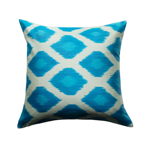 Eala Silk Ikat Pillow