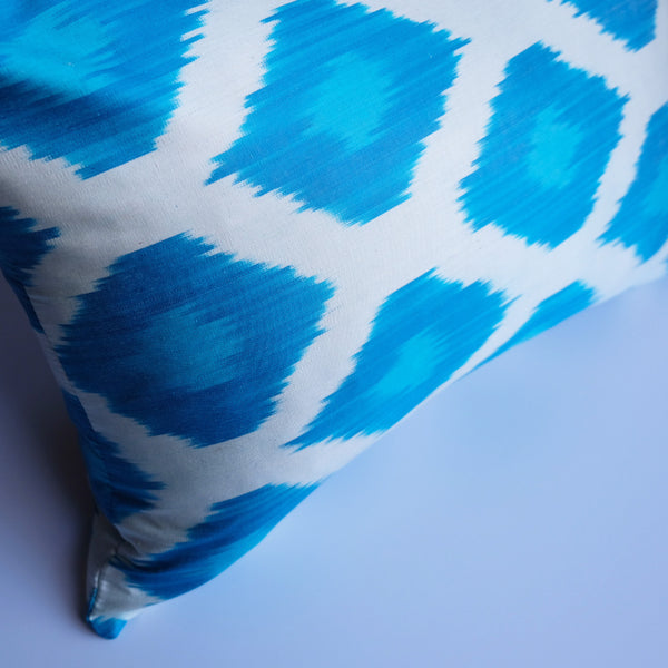 Eala Silk Ikat Lumbar Pillow