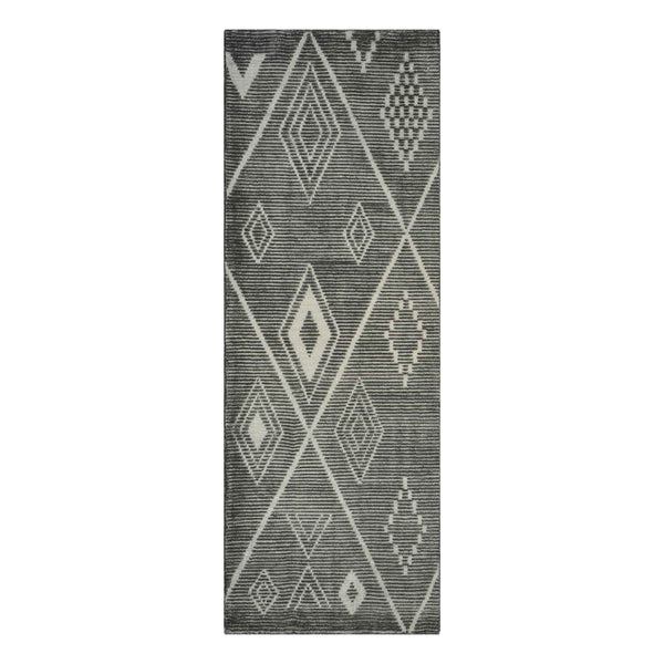 Embrace Gray Diamond Wool Runner