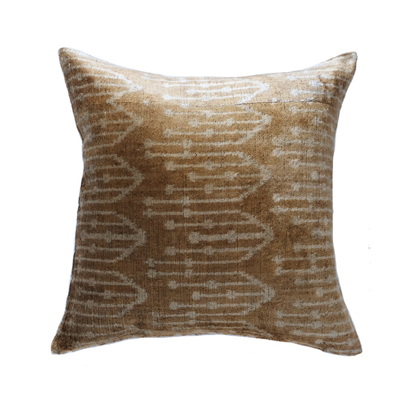 Geyli Silk Ikat Pillow