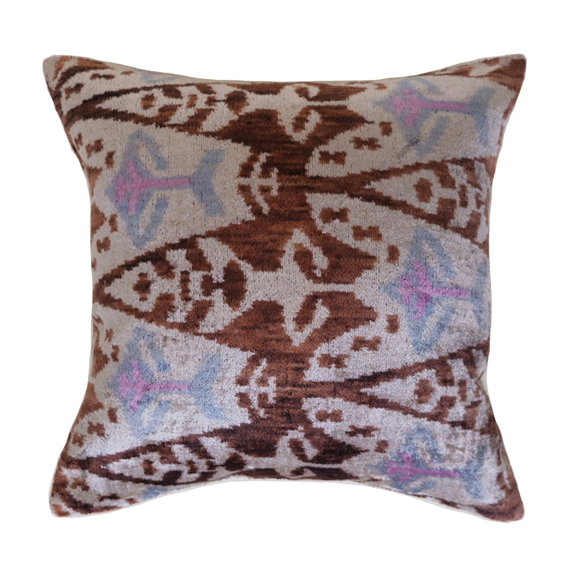 Hadim Silk Ikat Pillow