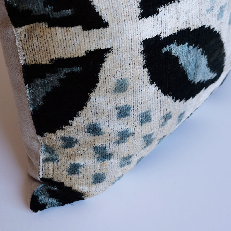 Kargi Silk Ikat Pillow