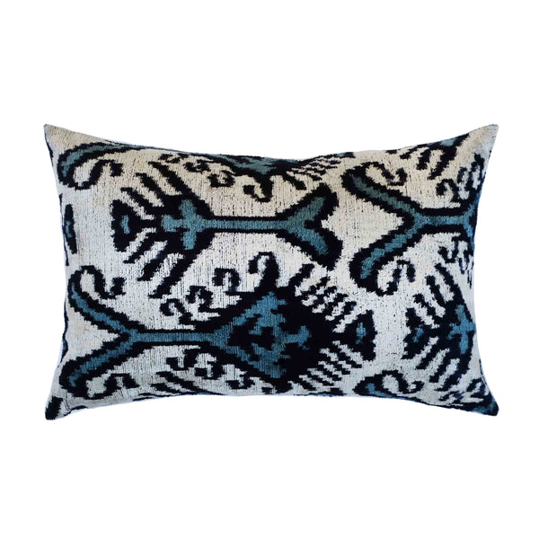 Kipp Silk Ikat Lumbar Pillow