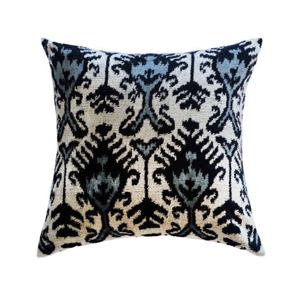 Kipp Silk Ikat Pillow