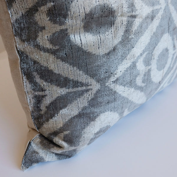 Kiyik Silk Ikat Pillow