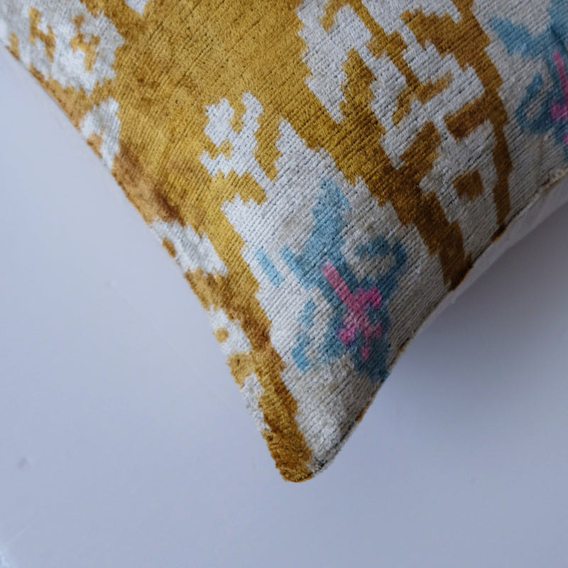 Kobod Silk Ikat Pillow