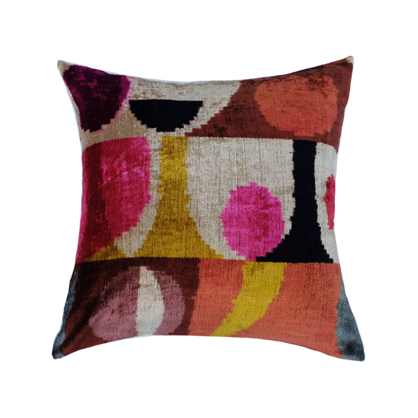 Biga Silk Ikat Pillow