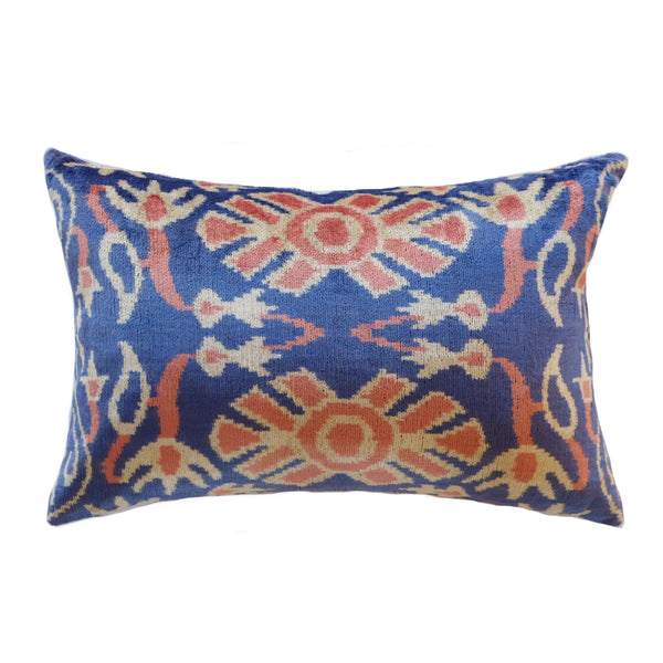 Didi Silk Ikat Lumbar Pillow