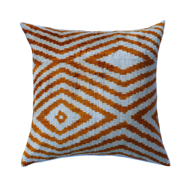 Elma Silk Ikat Pillow