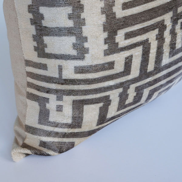 Eski Silk Ikat Pillow