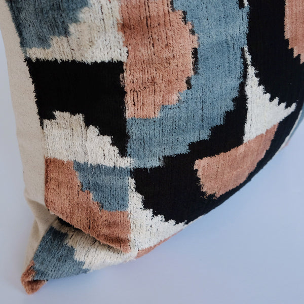Goru Silk Ikat Pillow
