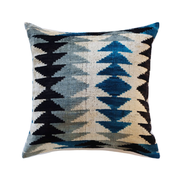 Kos Silk Ikat Pillow