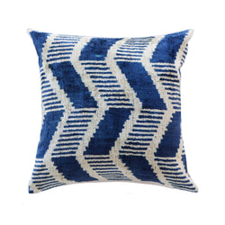 Lynn Silk Ikat Pillow