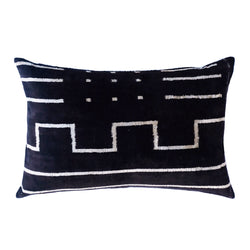 Mala Silk Ikat Lumbar Pillow