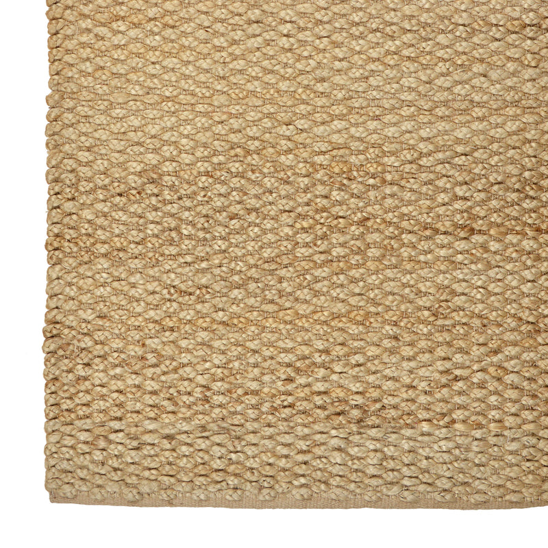 Braided Natural Jute Rug